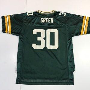 Ahman Green Bay Packers Kids Youth Jersey Reebok